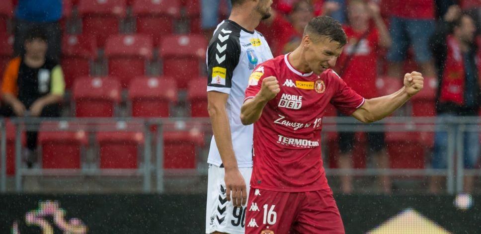 Karol Danielak strzelił gola w debiucie w Widzewie! - Zdjęcie główne