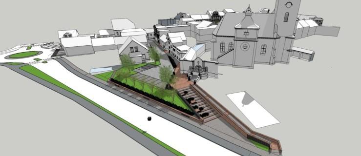 Jarocin. Nowe rozwiązania - rynek bliżej parku miejskiego [ZDJĘCIA] - Zdjęcie główne