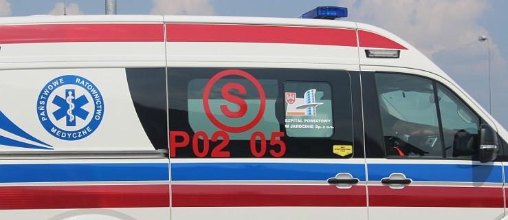 Zderzenie czterech aut przed przejściem dla pieszych na DK 11 w Witaszycach  - Zdjęcie główne