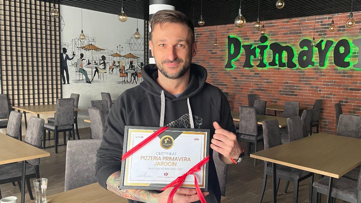 Ranking pizzy - wywiad z Piotrem Bocianem, właścicielem Pizzerii Primavera - Zdjęcie główne