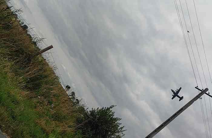 Nisko przelatujące samoloty nad naszym terenem. Wojskowi tłumaczą [WIDEO] - Zdjęcie główne