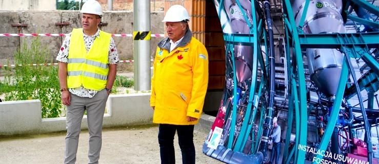 Światowa instalacja na oczyszczalni w Jarocinie - Zdjęcie główne