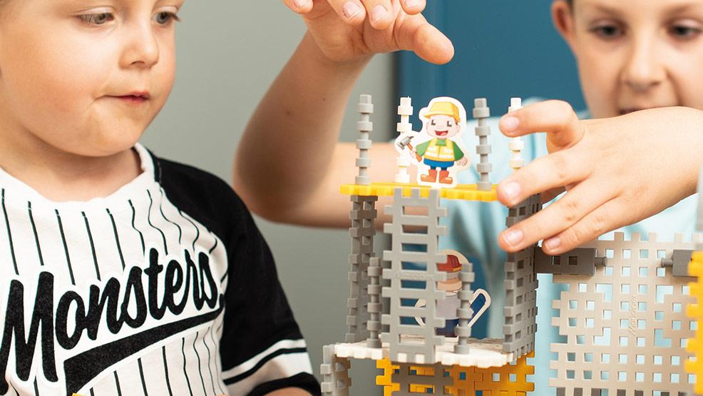 Poznaj tematyczne serie klocków Marioinex Mini Waffle – wzbudź kreatywność malucha - Zdjęcie główne