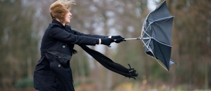 Uwaga, silny wiatr nadal może powodować zagrożenie - Zdjęcie główne