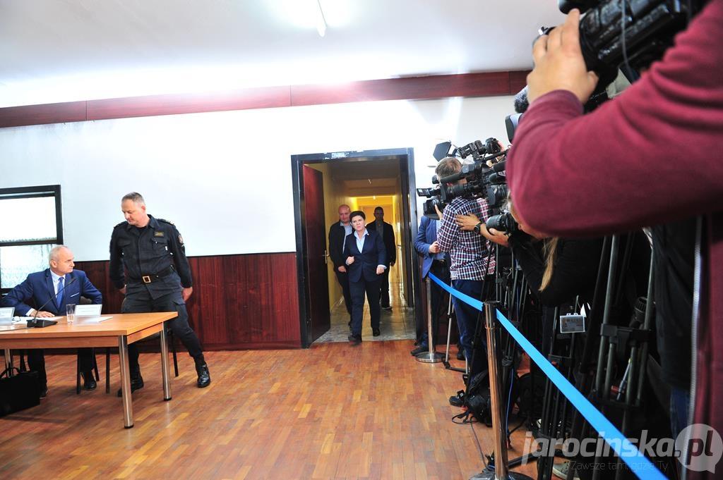 Premier Beata Szydło w Południowej Wielkopolsce  - Zdjęcie główne