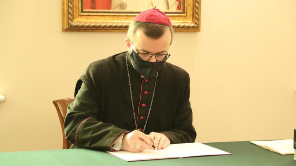 Pierwszy list biskupa Damiana Bryla po objęciu diecezji kaliskiej - Zdjęcie główne