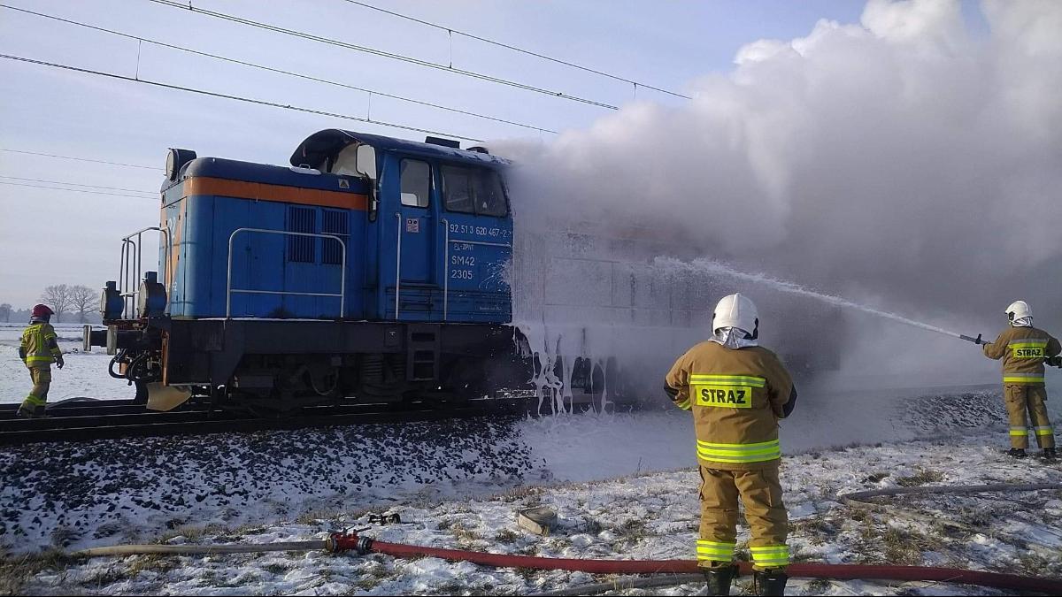 Trzy zastępy straży pożarnej skierowano do akcji gaśniczej     - Zdjęcie główne