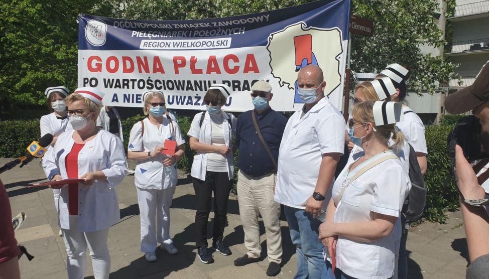 Wielki protest medyków w Warszawie. Będą związkowcy z Jarocina - Zdjęcie główne