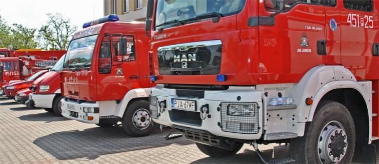 Straż pożarna na terenie jednostki wojskowej - Zdjęcie główne
