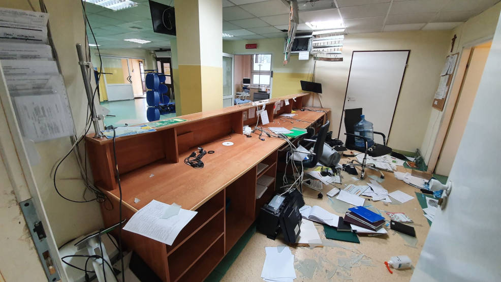 Mieszkaniec gminy Jarocin zdemolował Szpitalny Oddział Ratunkowy w Miechowie. Został aresztowany na 3 miesiące - Zdjęcie główne