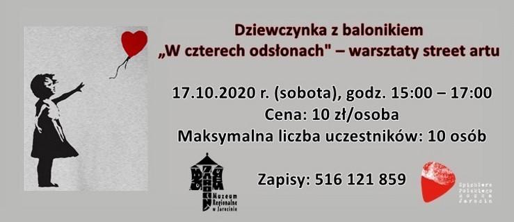 """Banksy i jego """"Dziewczynka z balonikiem"""" w Spichlerzu Polskiego Rocka - Zdjęcie główne"""