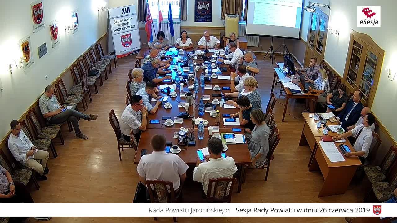 Zbiera się Rada Powiatu Jarocińskiego. W programie absolutorium dla zarządu  - Zdjęcie główne