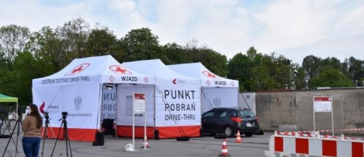 Ruszył pierwszy w Polsce samochodowy punkt poboru próbek COVID-19. Zlokalizowano go w Krotoszynie  - Zdjęcie główne