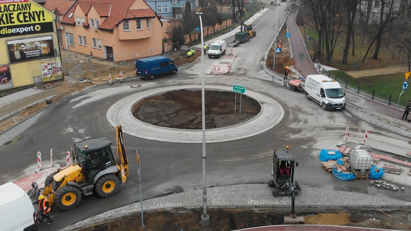 Nowe ronda w Jarocinie - wiemy, kiedy zostaną oddane do użytku [WIDEO] - Zdjęcie główne