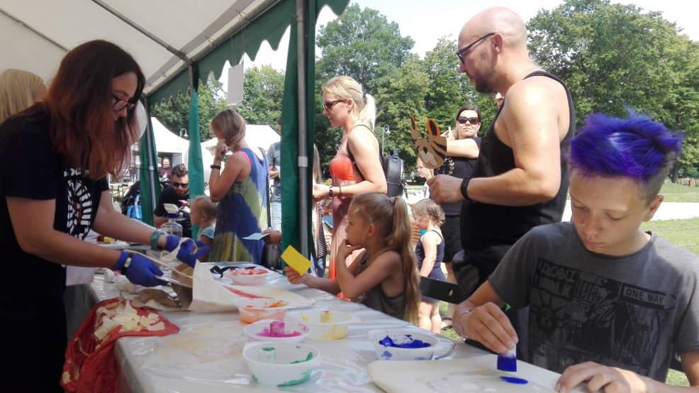 Jarocin Festiwal 2021. Atrakcje w amfiteatrze dla dzieci - Zdjęcie główne