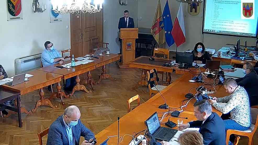 O zaawansowaniu inwestycji w Jarocinie na posiedzeniu rady miejskiej  - Zdjęcie główne