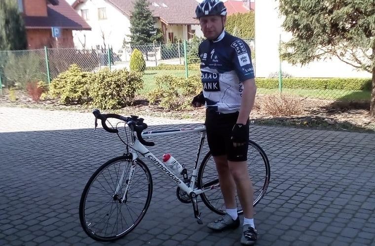 Krotoszyn. W ciągu miesiąca pokonał na rowerze ponad 5000 km - Zdjęcie główne