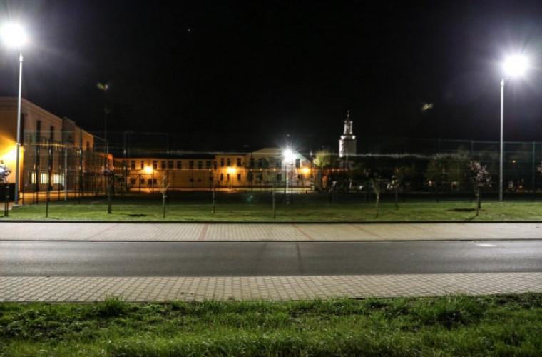 Nowe lampy uliczne w Kobylinie - Zdjęcie główne