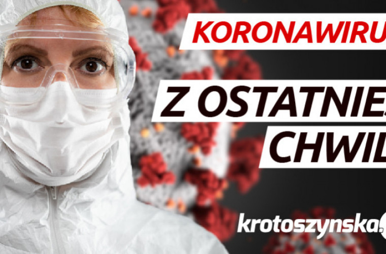 Koronawirus w powiecie krotoszyńskim. 9 nowych zakażeń, 1 osoba nie żyje - Zdjęcie główne