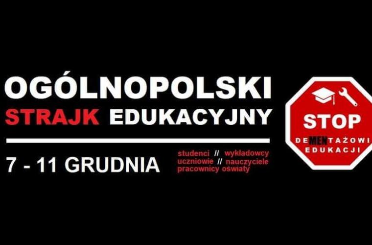 Strajk generalny uczniów i studentów. Chcą dymisji ministra edukacji - Zdjęcie główne