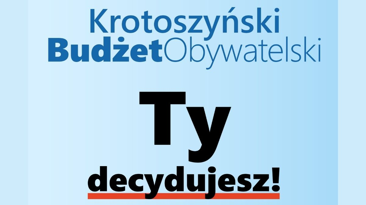 Na co chciałbyś wydać 150 tys. zł? Zobacz, jak działa budżet obywatelski w Krotoszynie! - Zdjęcie główne