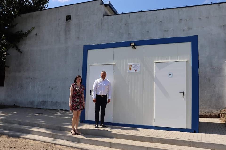 Nowe toalety w Kobylinie [ZDJĘCIA] - Zdjęcie główne