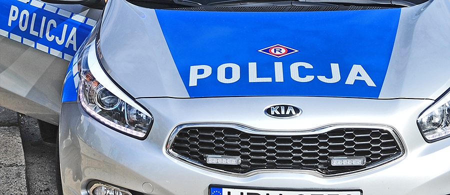 Koźmin Wlkp. Napadł na policjanta, staranował radiowóz i uciekł - Zdjęcie główne