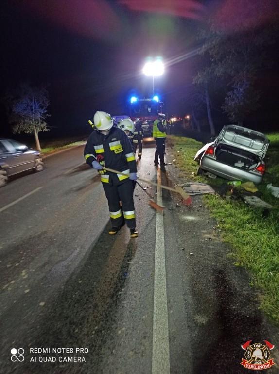 Wypadek w Kuklinowie - Zdjęcie główne