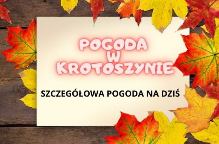Pogoda w Krotoszynie w czwartek, 22 października 2020 r. - Zdjęcie główne