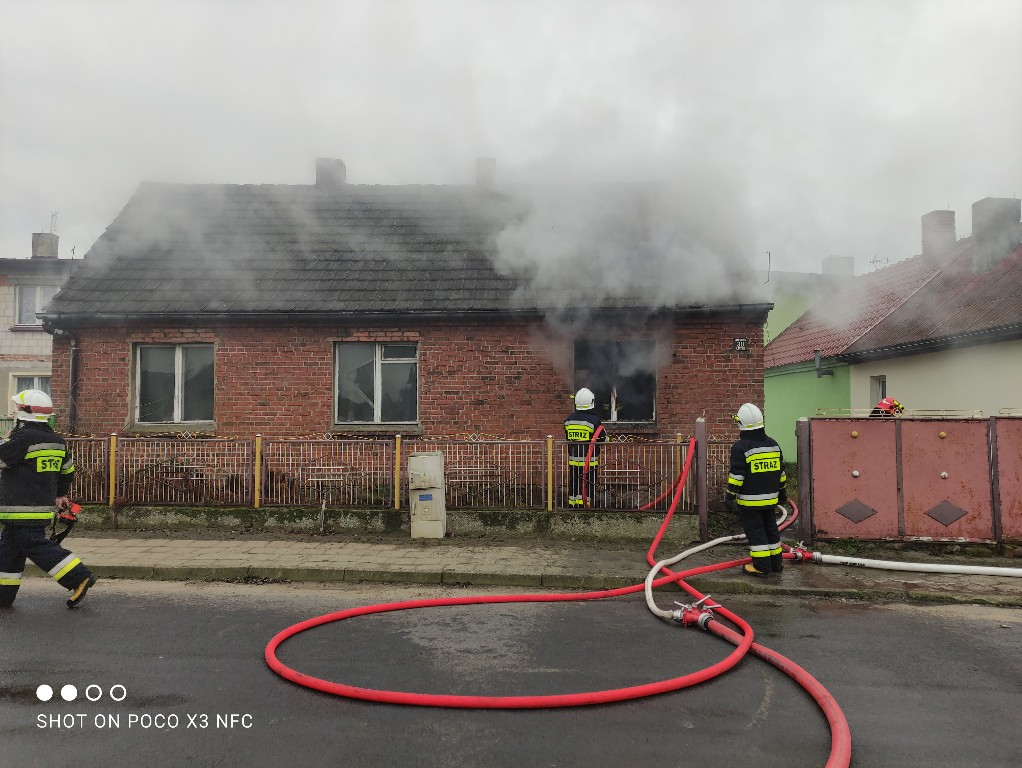 Pożar w Starej Obrze - Zdjęcie główne