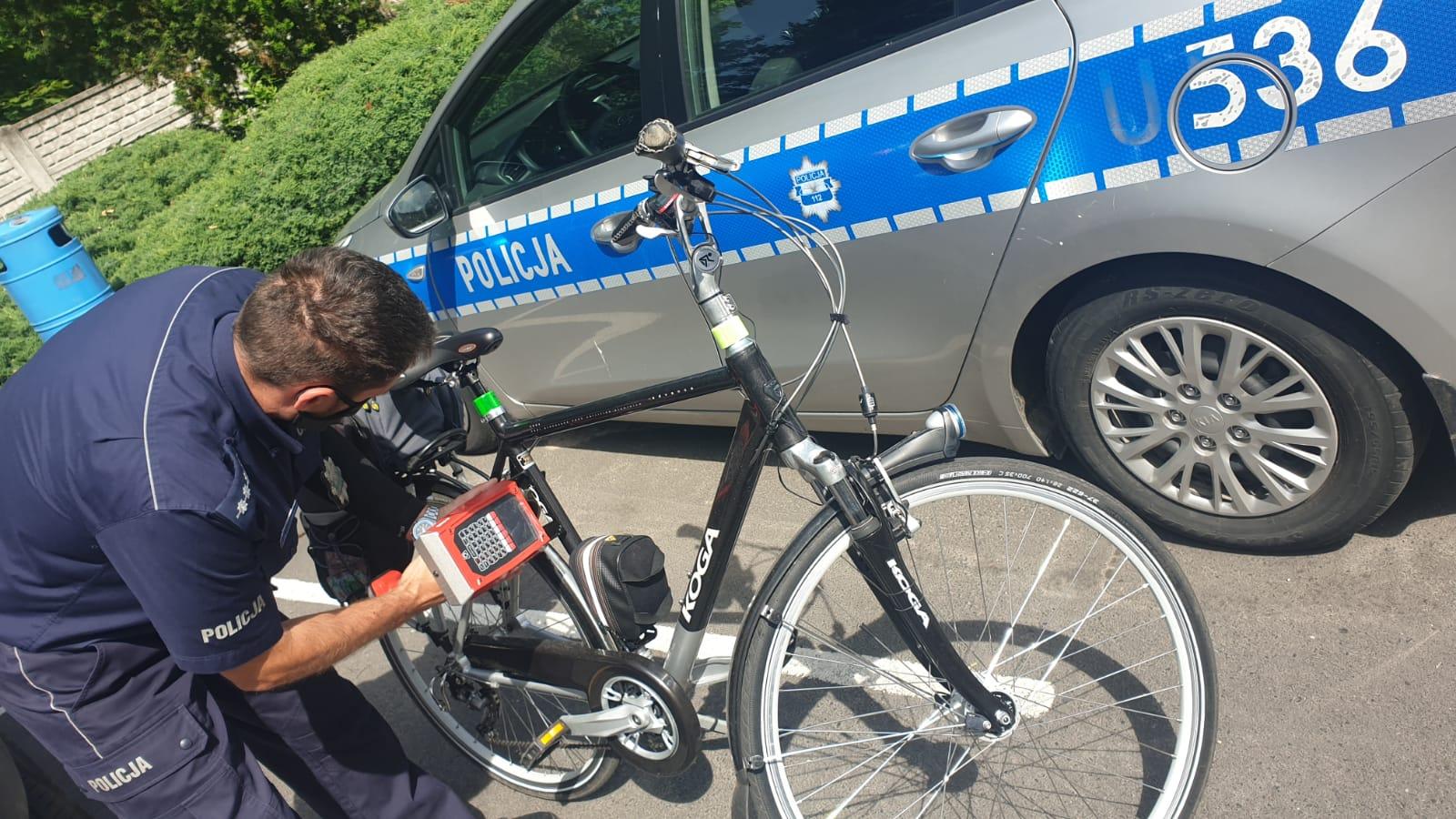 Powiat krotoszyński. Policja będzie znakować rowery - Zdjęcie główne