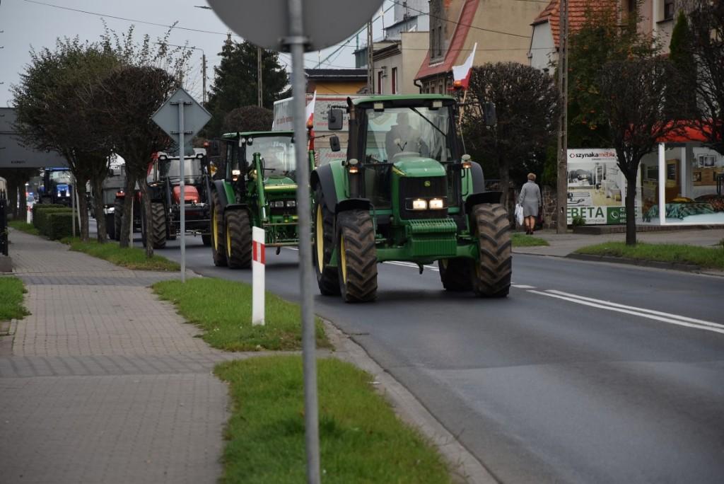 Protest rolników w powiecie krotoszyńskim - Zdjęcie główne