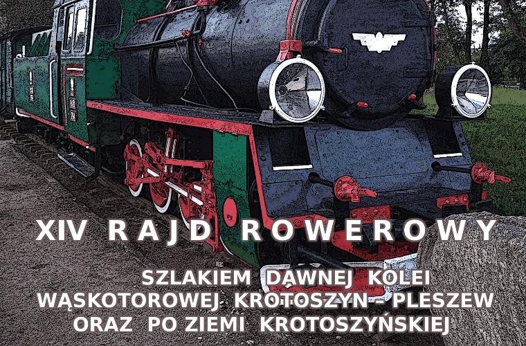 Krotoszyn. Rajd rowerowy szlakiem dawnej kolei wąskotorowej - Zdjęcie główne