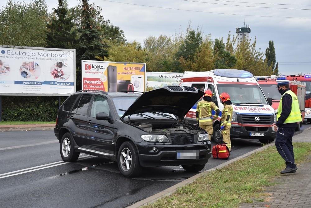 Wypadek na DK 15 - Zdjęcie główne