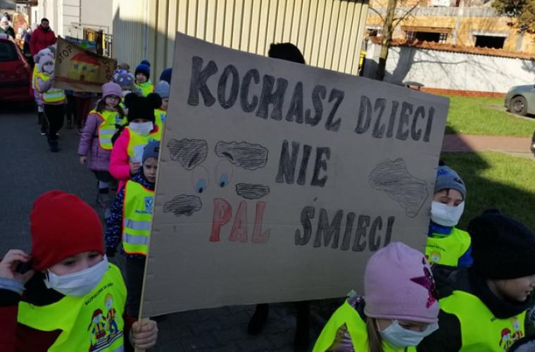 Koźmin. Przedszkolaki walczą ze smogiem - Zdjęcie główne