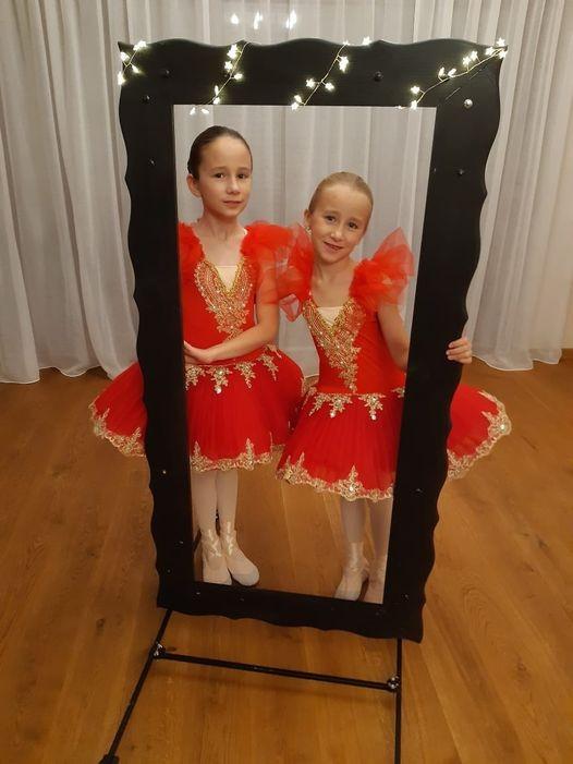 Zofia i Maria Błaszyk ze Szkoły Tańca BabyBalet w Krotoszynie - Zdjęcie główne
