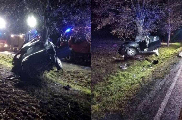 Wypadek śmiertelny w Kuklinowie. Nie żyje młoda kobieta [ZDJĘCIA] - Zdjęcie główne
