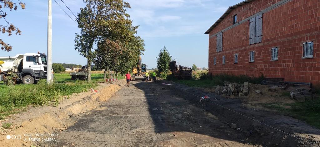 Przebudowa Spokojnej w Smoszewie - Zdjęcie główne