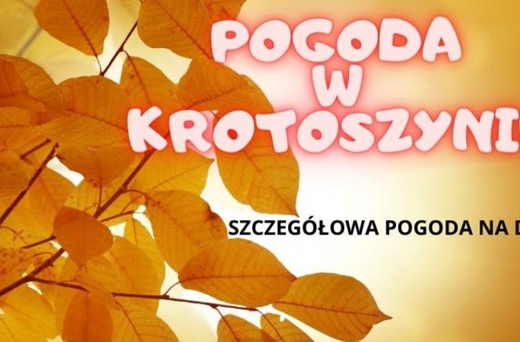 Pogoda w Krotoszynie we wtorek, 20 października 2020 r. - Zdjęcie główne