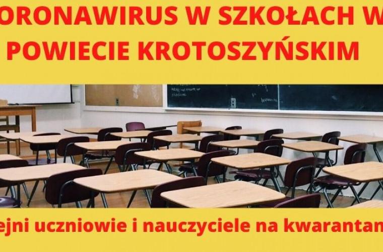Koronawirus w powiecie krotoszyńskim. Kolejne szkoły z nauczaniem zdalnym - Zdjęcie główne