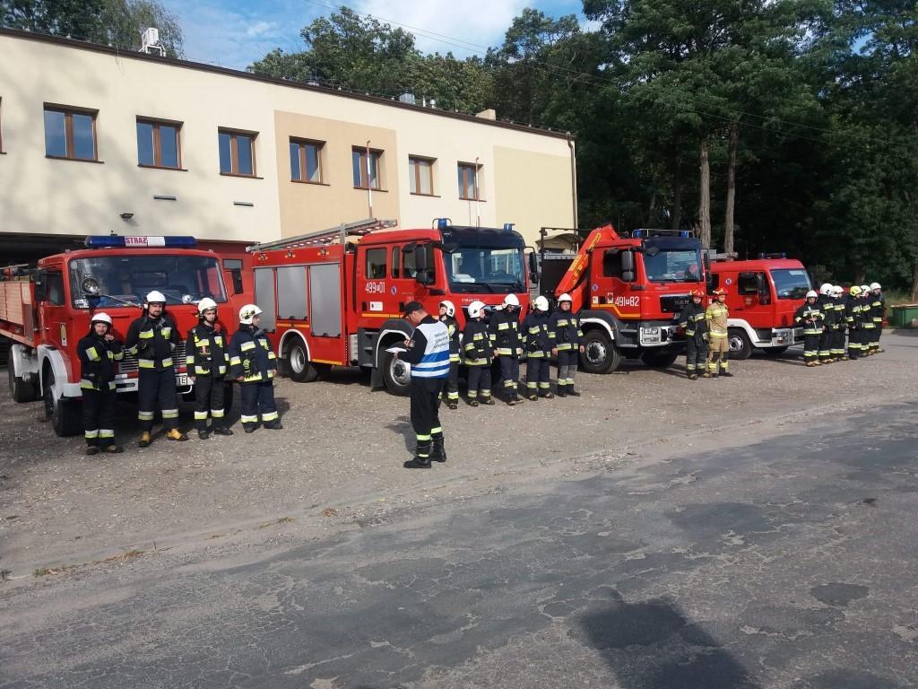 Ćwiczenia PSP Krotoszyn - Zdjęcie główne