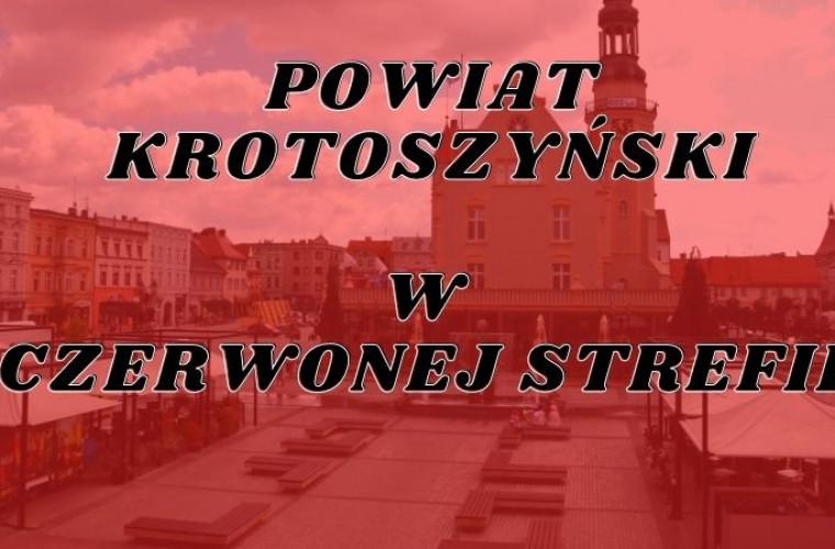 [Z OSTATNIEJ CHWILI] Powiat krotoszyński w czerwonej strefie! - Zdjęcie główne