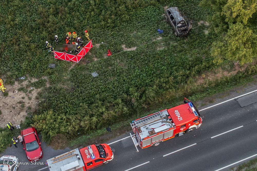 Śmiertelny wypadek na trasie Koźmin Wlkp. - Wałków. Znamy szczegóły - Zdjęcie główne