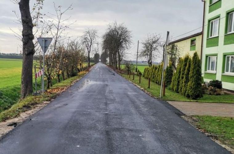 Gmina Koźmin Wlkp. Nowa droga już otwarta - Zdjęcie główne