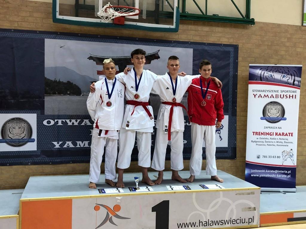 Zawody karateków w Świeciu - Zdjęcie główne