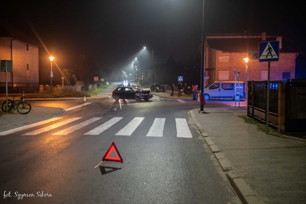 Koźmin Wlkp. Zderzenie Audi i Opla - Zdjęcie główne