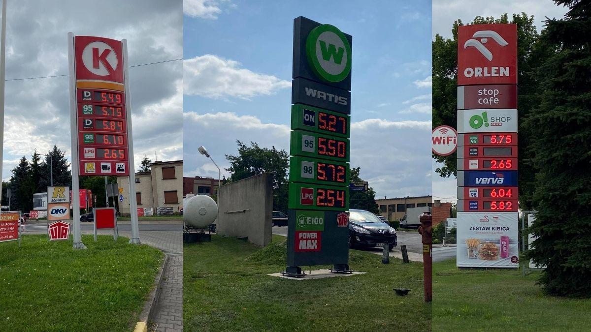 Aktualne ceny paliw w powiecie krotoszyńskim  - Zdjęcie główne
