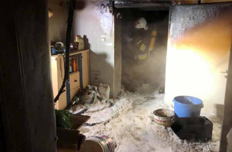 Pożar w Krotoszynie. Jedna osoba nie żyje - Zdjęcie główne