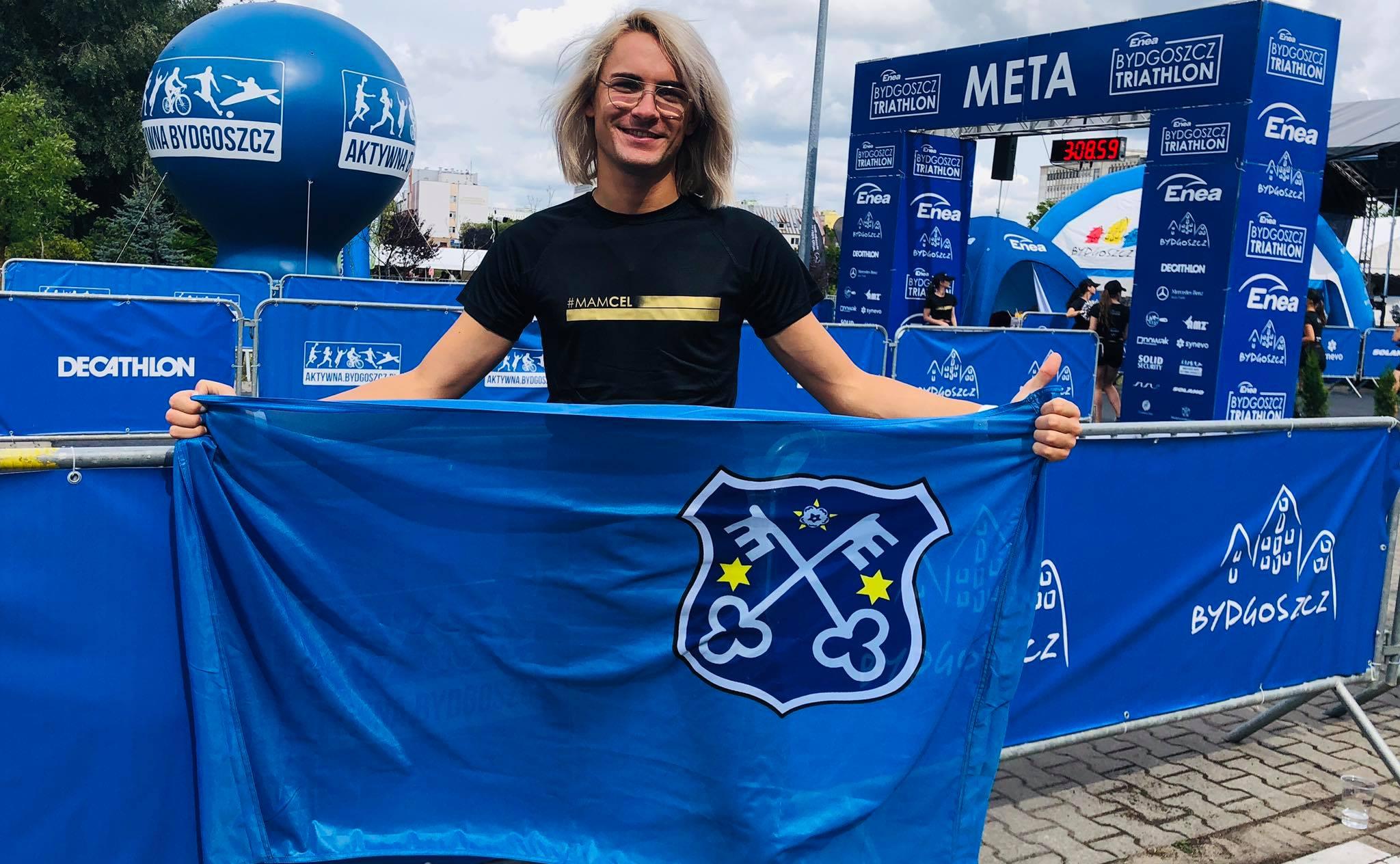 Krzysztof Kubik z Krotoszyna debiutował w Triathlonie - Zdjęcie główne
