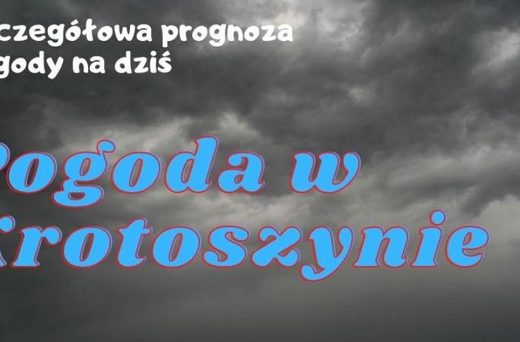 Pogoda w Krotoszynie – czwartek 17 września 2020 r. - Zdjęcie główne